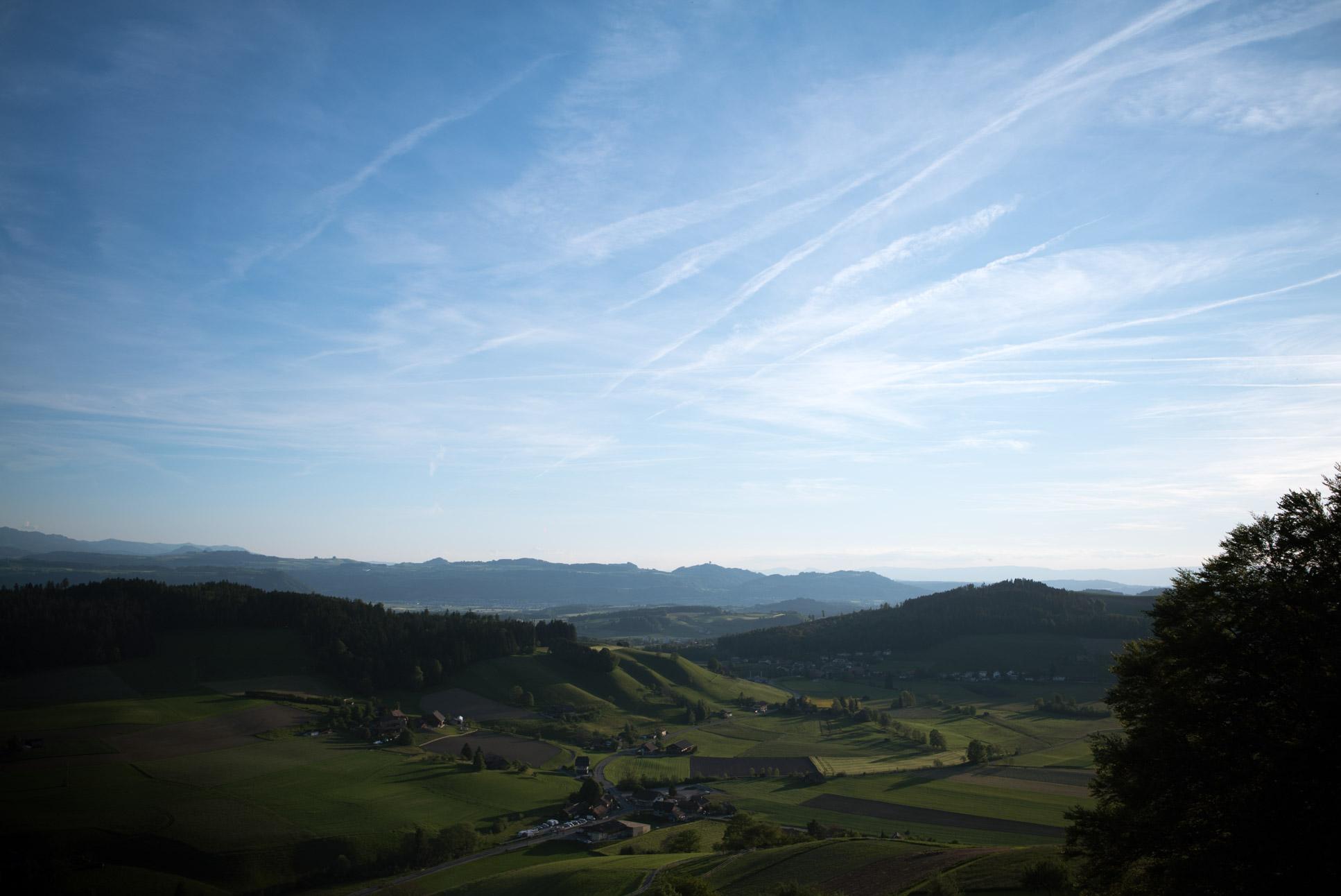 Landscape near Biglen