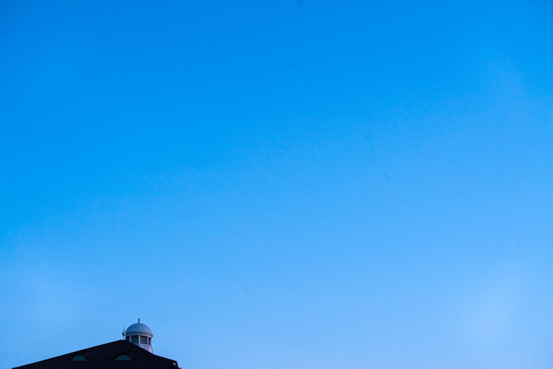 Blue skies above Vienna