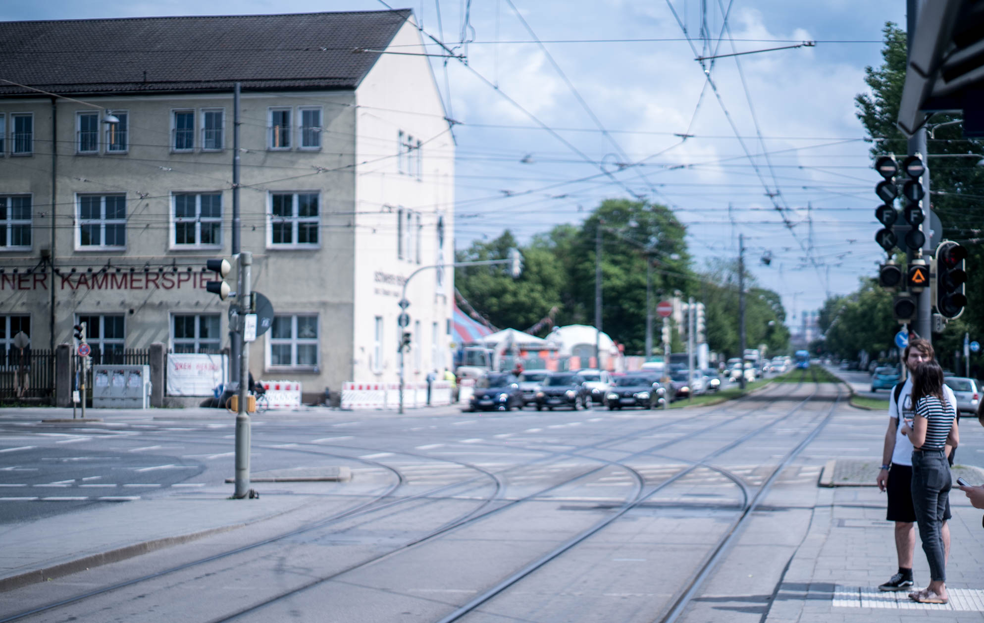 Photo by Pascal Sommer - Munich has some beautiful reserved track