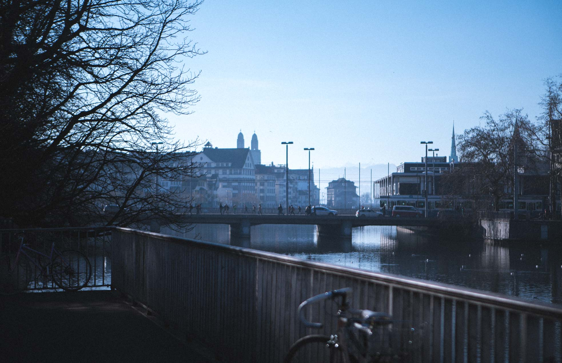 Photo by Pascal Sommer - The river Limmat