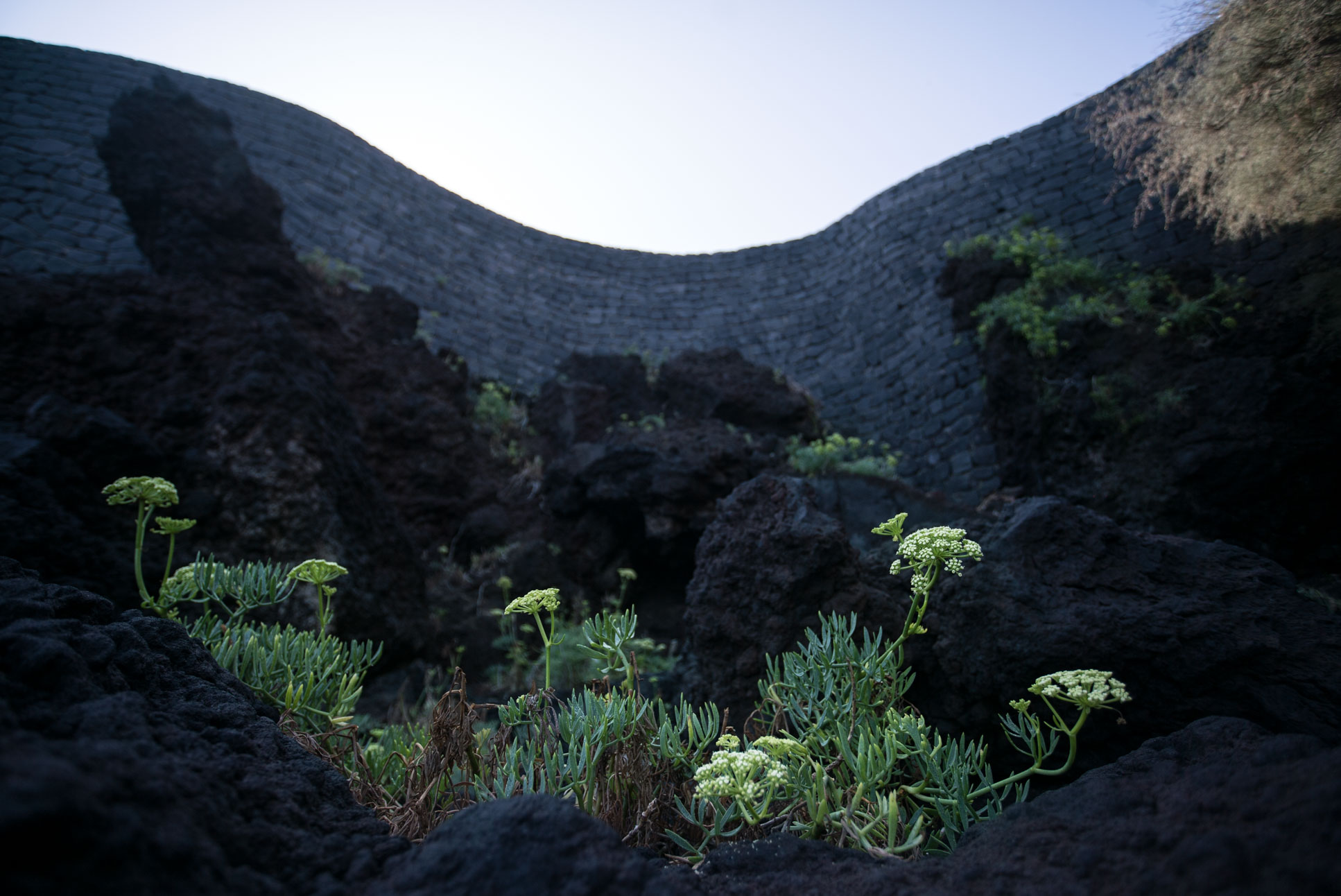 Photo by Pascal Sommer - Volcanic rocks on Stromboli