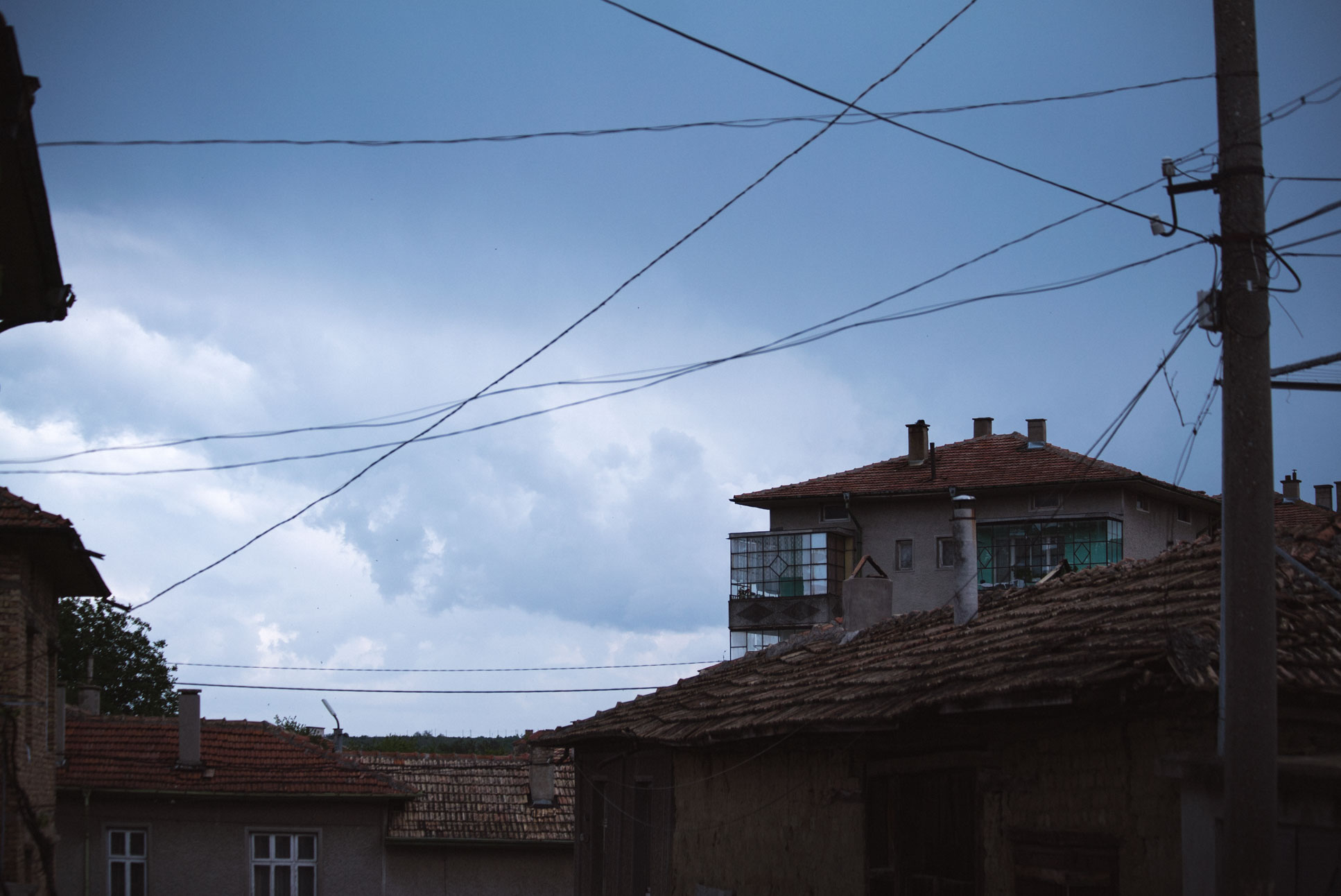 Near the centre of Велики Преслав.