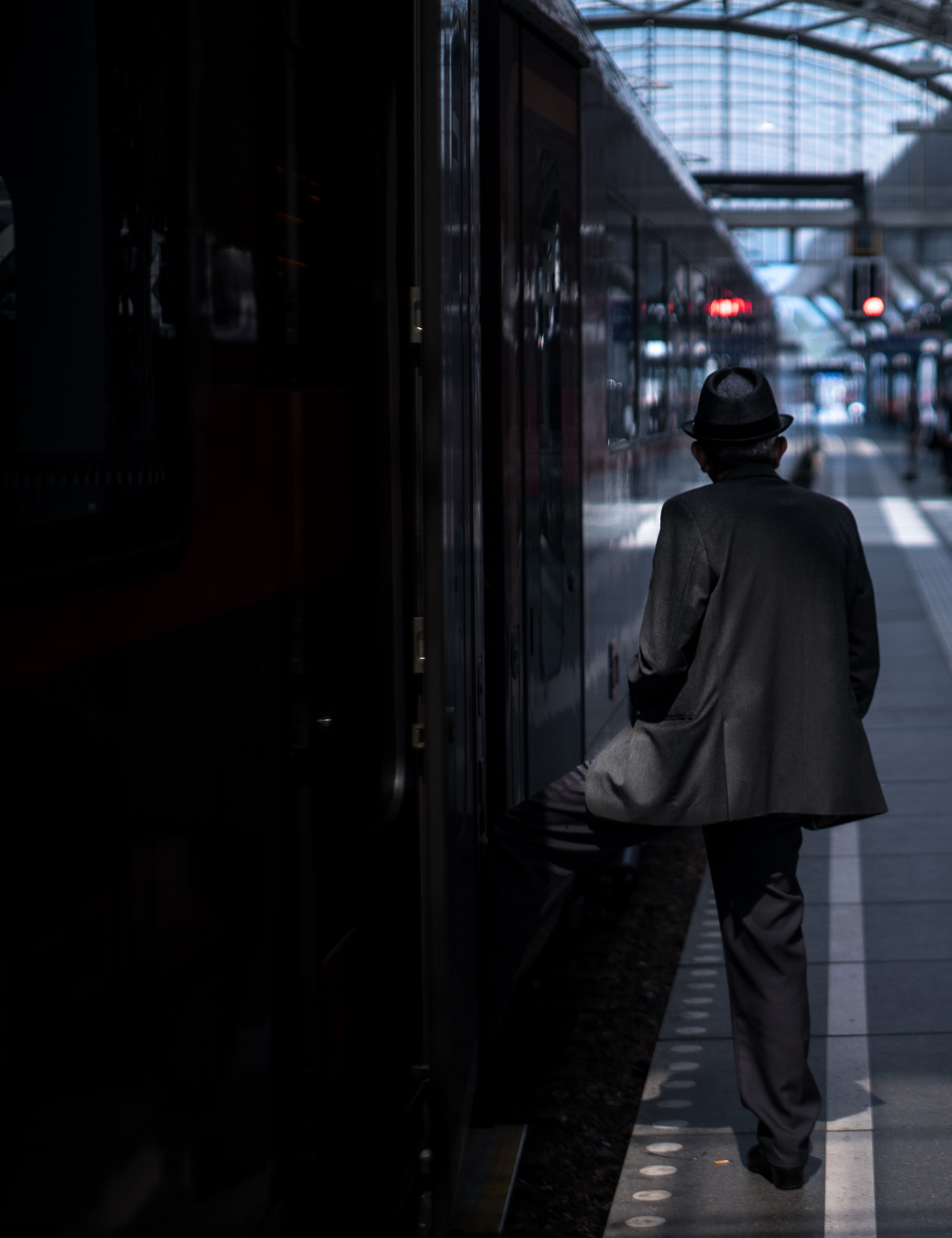 Photo by Pascal Sommer - Salzburg Main Station