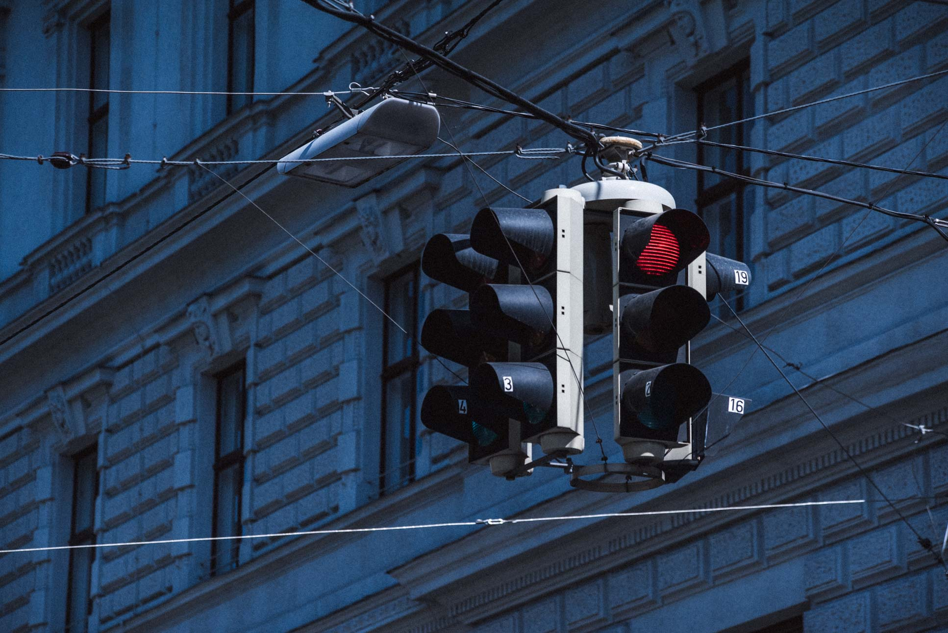 Photo by Pascal Sommer - Vienna traffic lights