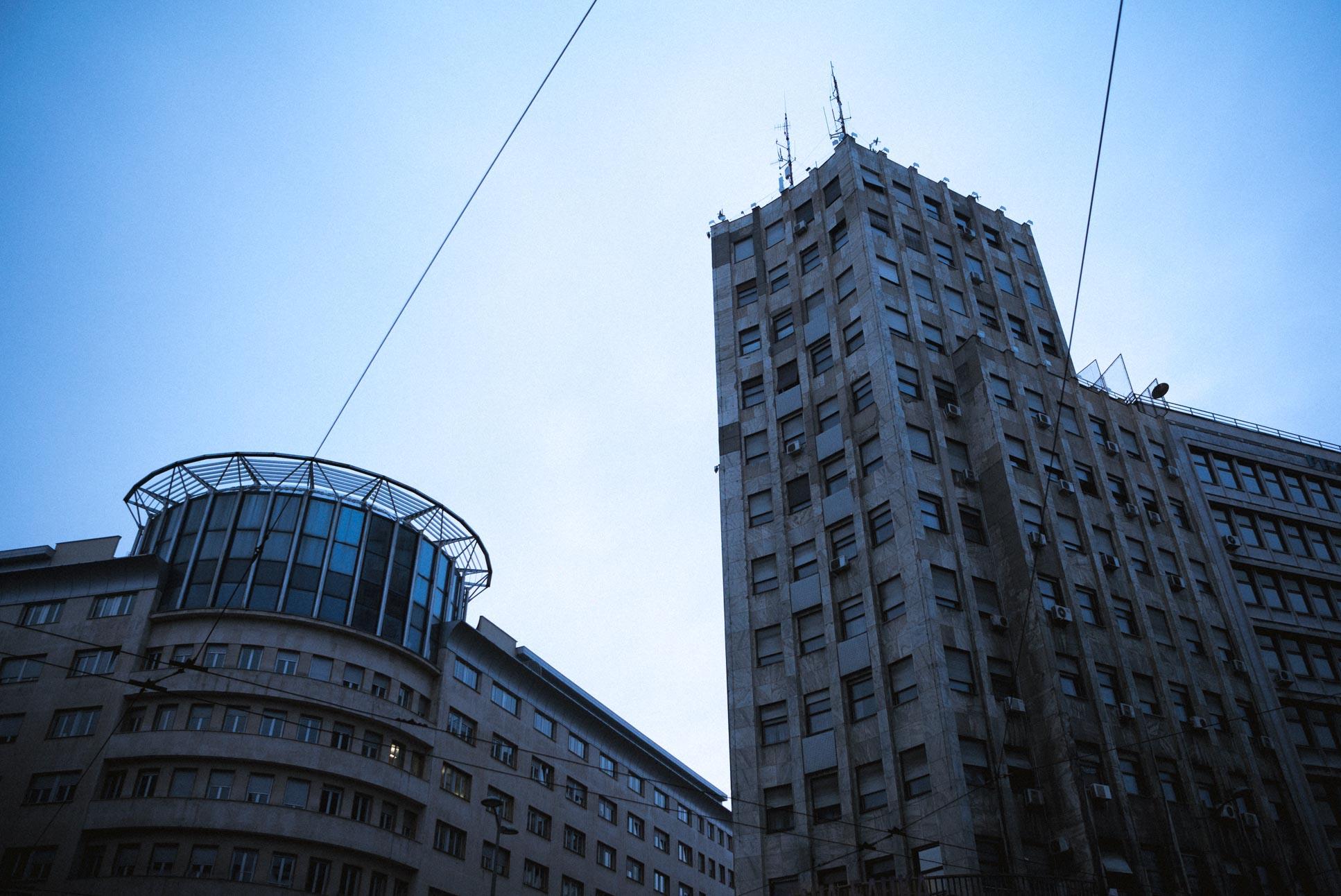 Near the centre of Belgrade, on Kolarčeva