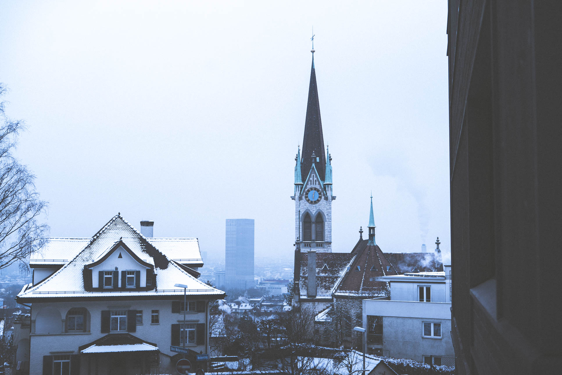 Photo by Pascal Sommer - Kirche Wipkingen