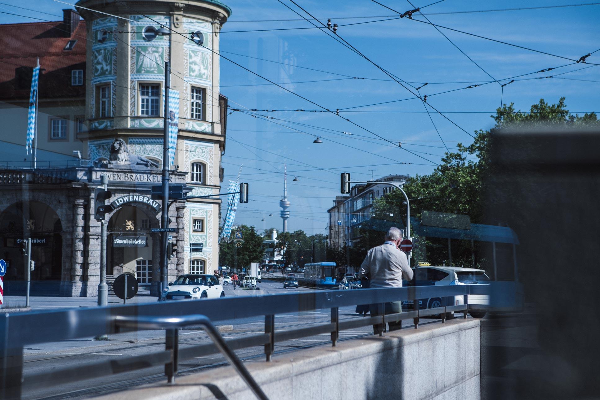 Photo by Pascal Sommer - Stiglmaierplatz tram stop