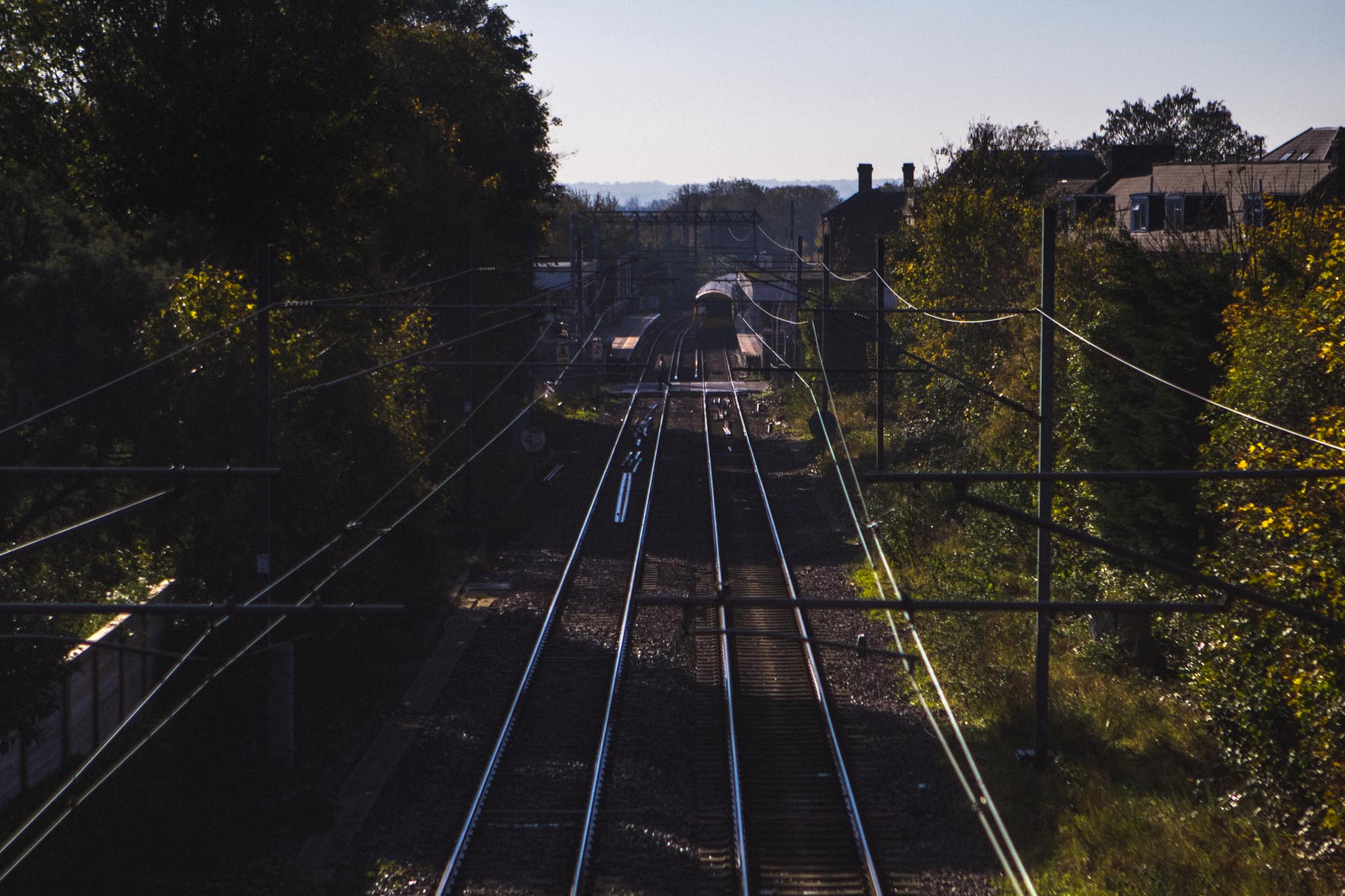 The London Overground through Acton